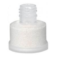 Purpurina Cosmética Suelta Grimas 25 ml. 05 Blanca-Roja