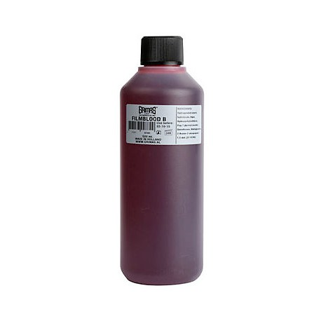 Sangre Artificial Grimas color Oscuro. 500 ml.